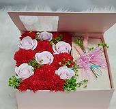 카네이션비누 꽃2  핑크 용돈박스 어버이날 스승의날선물용 