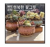 수제화분초가집다육화분/인테리어화분/다육이화분/행복상회/행복한꽃그릇|Handmade Flower pot
