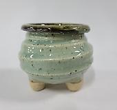 수제화분 돌가루분7cm(옥색)|